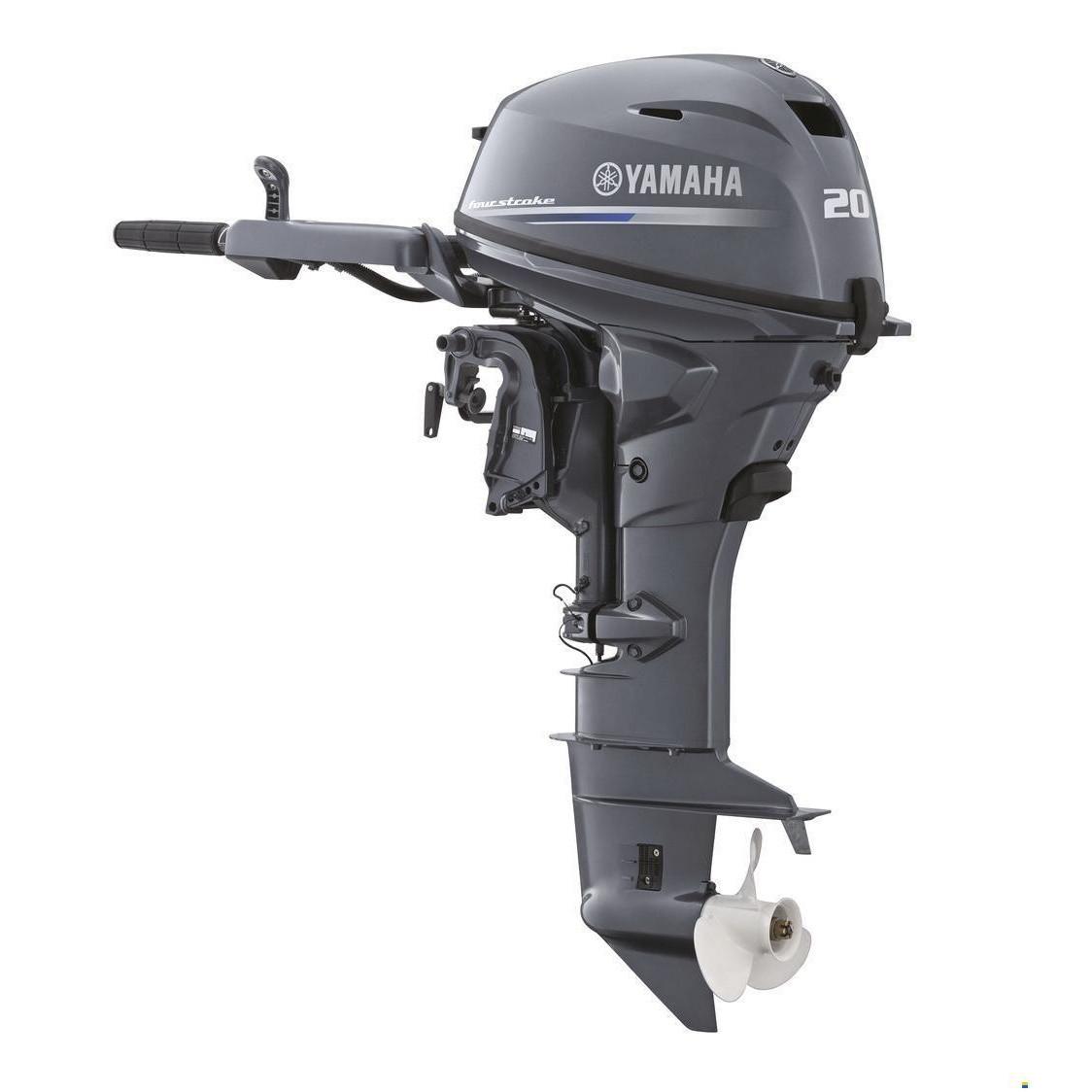 Двигун для човна Yamaha F20GMHL- підвісний двигун для яхт і рибальських човнів