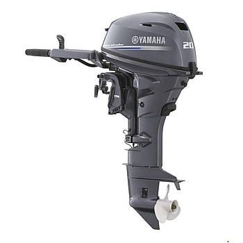 Лодочный мотор Yamaha F20GMHL - подвесной мотор для яхт и рыбацких лодок
