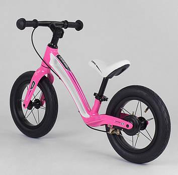 Детский велобег розовый Велобег для девочки Велобег для дочки Беговел для ребенка от 2-х лет