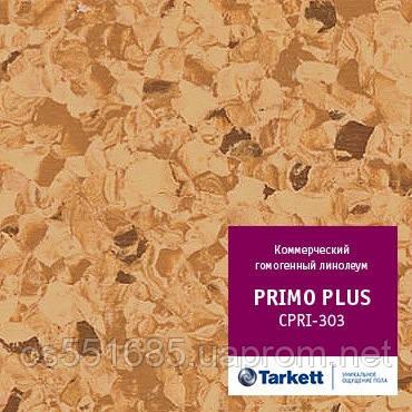 CPRPI 303 - линолеум коммерческий гомогенный 34 класс, коллекция Primo Plus (Праймо плюс) Tarkett (Таркетт)