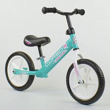 """Беговел со стальной рамой, колесо 12"""" EVA (пена) Беговел для девочки Велобег детский Беговел для детей"""