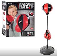 Дитячий ігровий боксерський набір Груша підлогова з рукавичками