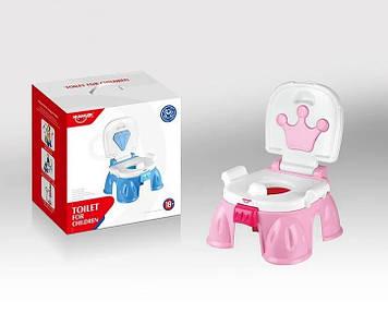 Музыкальный горшок с короной АНАЛОГ Fisher-Price  Розовый горшок Горшок для девочки