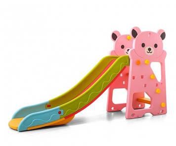 Горка пластиковая разборная Пластиковая горка Горка для самых маленьких Горка детская с бортиками