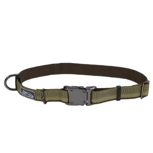 Coastal K9 Explorer Collar КОСТАЛ К9 ЕКСПЛОРЕР світловідбиваючий нашийник для собак, 2.5х30-46см