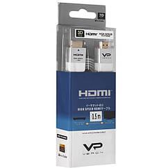 Кабель Veron HDMI Slim High-Speed with Ethernet V2.0 0.5 м, белый
