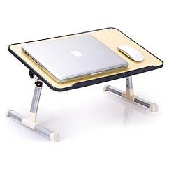 Стол для ноутбука деревянный складной Laptop Table