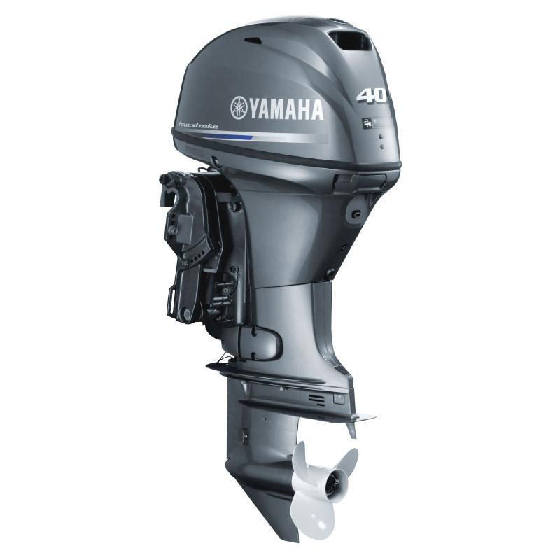Двигун для човна Yamaha F40FETS  - підвісний двигун для яхт і рибальських човнів