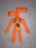 Мягкая игрушка Karinka Siren Head Сиреноголовый монстр 40 см Оранжевый
