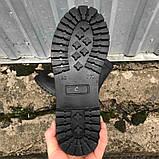 Берцы черные кожаные летние, фото 5