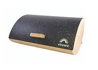 Бамбукова хлібниця з кришкою Vincent 35x25x15,5 см VC-1234