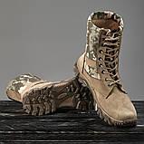Обувь берцы летние коричневые Милитари, фото 3