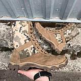 Обувь берцы летние коричневые Милитари, фото 4