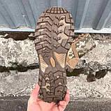 Обувь берцы летние коричневые Милитари, фото 7