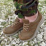 Кроссовки тактические коричневые С 3D СЕТКОЙ КОЙОТ, 36-46 размеры, фото 2