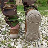 Кроссовки тактические коричневые С 3D СЕТКОЙ КОЙОТ, 36-46 размеры, фото 4