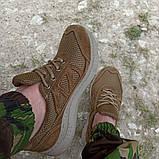Кроссовки тактические коричневые С 3D СЕТКОЙ КОЙОТ, 36-46 размеры, фото 6