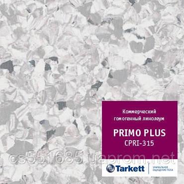 CPRPI 315 - линолеум коммерческий гомогенный 34 класс, коллекция Primo Plus (Праймо плюс) Tarkett (Таркетт)