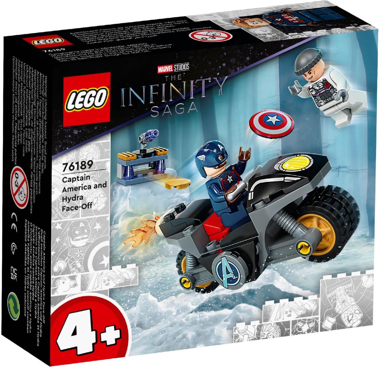 Lego Super Heroes Битва Капитана Америка с Гидрой 76189