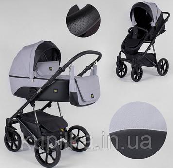 Детская универсальная коляска-трансформер, с прогулочным блоком-автокреслом Expander MODO M-91019 цвет GreyFox