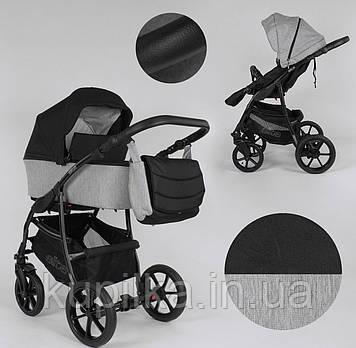 Детская универсальная коляска 2 в 1 Expander ELITE ELT-70406 цвет Silver,ткань с водоотталкивающей пропиткой