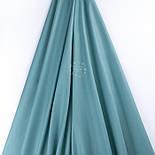 Лоскут поплина однотонный, цвет светло-шалфейный (№3457), размер 33*120 см, фото 2