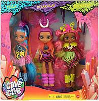 Набор из 3х кукол Пещерный клуб Первые друзья Mattel Cave Club First Friends Уценка