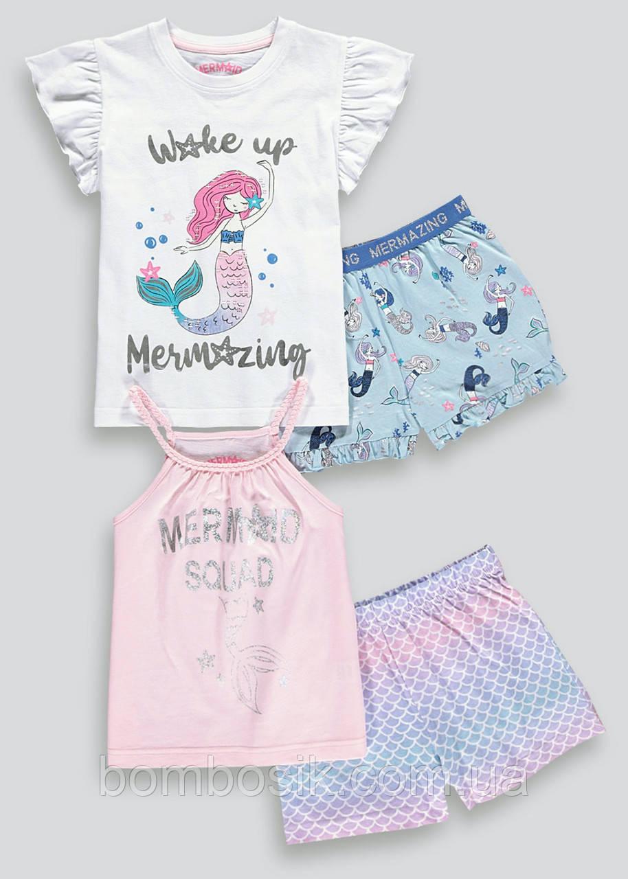 Пижамы для девочки Matalan набор 2шт, 11л (146см)