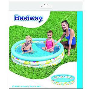 Бассейн детский надувной Bestway 51009, фото 2