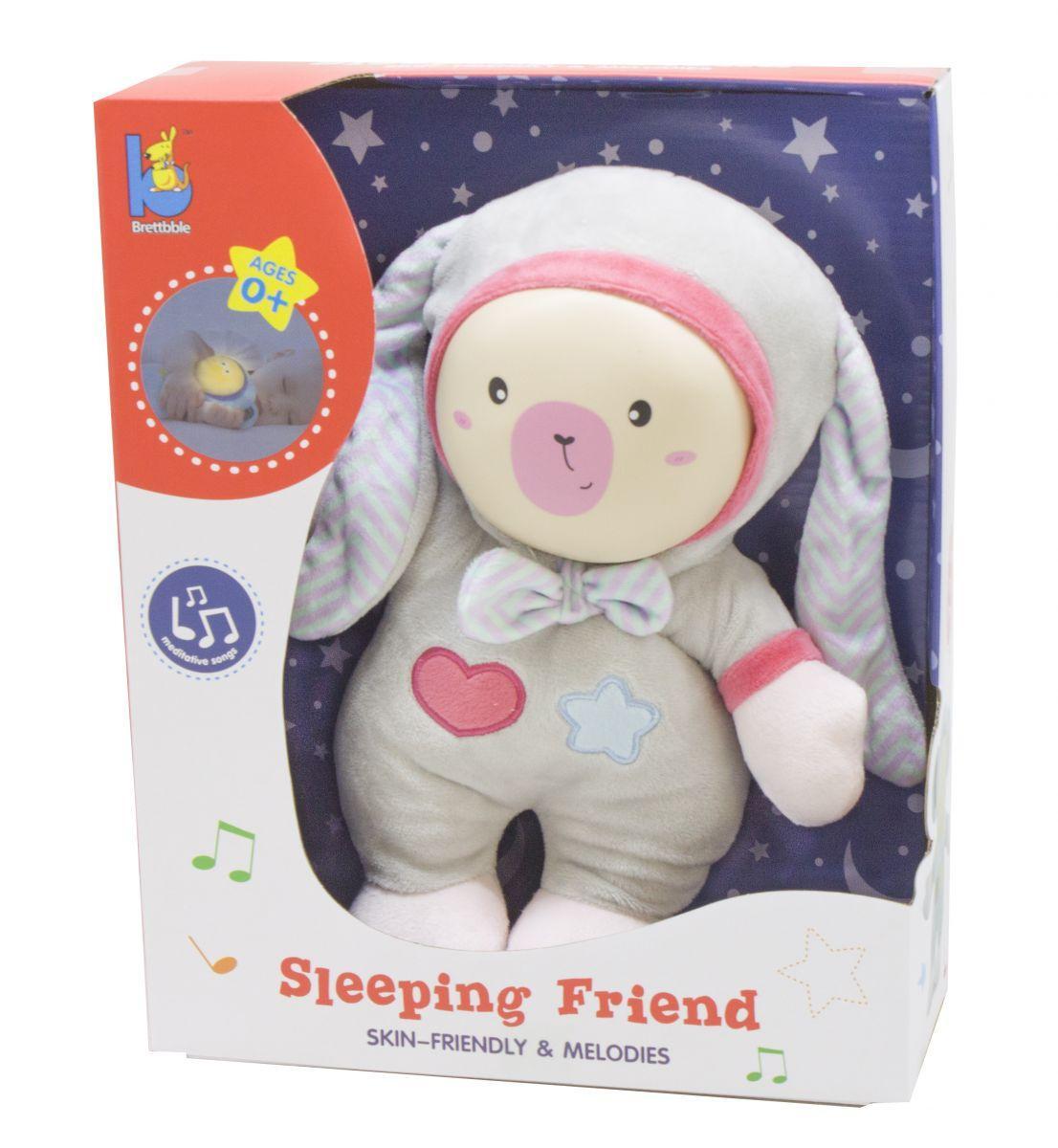 """Дитячий нічник м'яка іграшка """"Зайчик"""" Brettbble Sleeping Friend"""