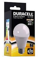 Лампа светодиодная DURACELL 6W > 40W (E27)
