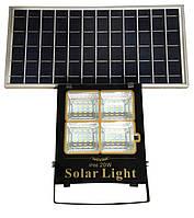 Прожектор LED+ SOLAR СОНЯЧНА ПАНЕЛЬ+пульт 20W IP65 6500К Tзар4,5ч,Троб12-14ч(12/ящ) ТМ LUMANO(12міс)
