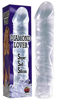 Фаллоимитатор DIAMOND LOVER (прозрачный)