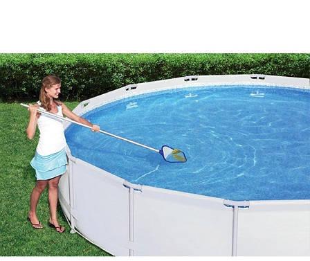 Сачок для очищення верхнього шару води Bestway 58325, фото 2