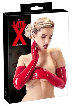 Перчатки красные LATEX