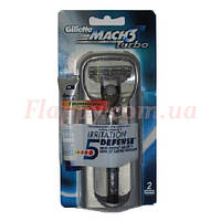 Станок для бритья Gillette MACH3 Turbo (Германия)