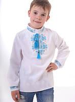 Детская льняная вышиванка Святослав ТМ Люксик для мальчика (рост 134)