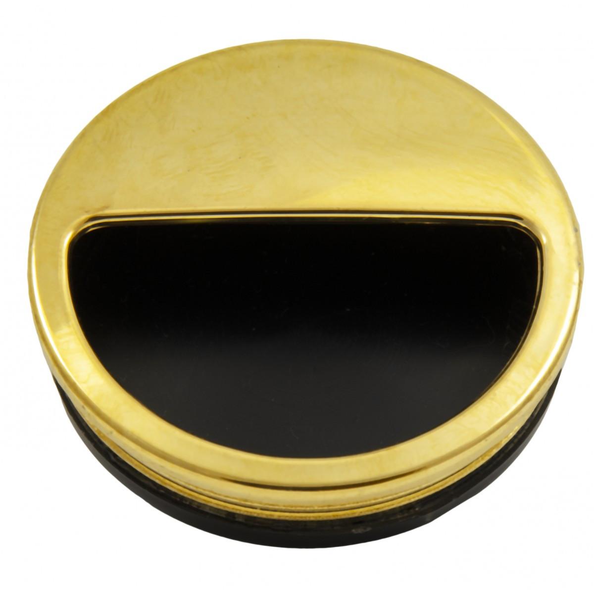 Ручка мебельная Ozkardesler врезная d=50мм 5408-05 PLS KAPAKLI GOME Золото