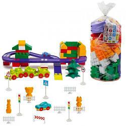 Пластиковий Конструктор №7, 150 деталей 1-217