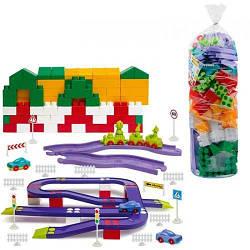 Пластиковий Конструктор №8, 180 деталей 1-218