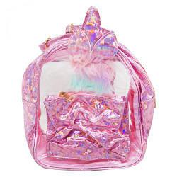 """Рюкзак """"Кролик"""" розовый BG3746"""