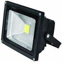EUROELECTRIC LED Прожектор COB чорний 10W 6500K classic