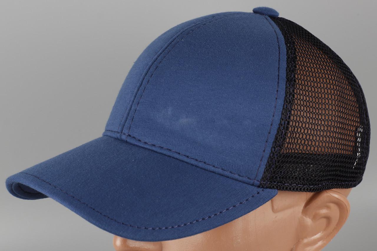 Кепка бейсболка синяя Размер 60 +/-