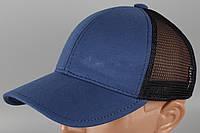 Кепка бейсболка синяя Размер 60 +/-, фото 1
