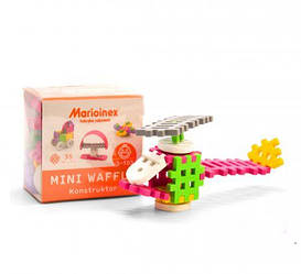"""Конструктор """"Marioinex: Міні вафлі"""", для дівчаток, 35 елементів 902790"""