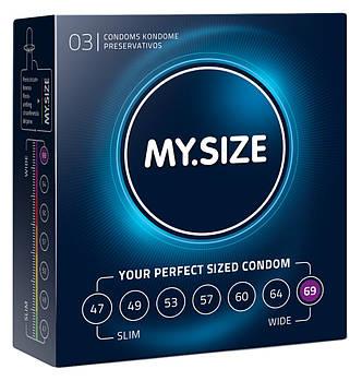 Презервативи Мій розмір (69 мм) 3 шт