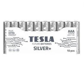 """Батарейки """"TESLA ААА: SILVER+, 10 шт AAA SILVER+10M"""