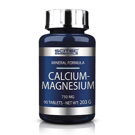 Кальцій магній Scitec Nutrition Calcium - Magnesium 90 таблеток