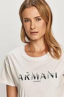 Футболка жіноча Armani Exchange, біла армані, фото 1