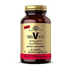 Комплекс витаминов Solgar Formula V VM - 75 90 таблеток